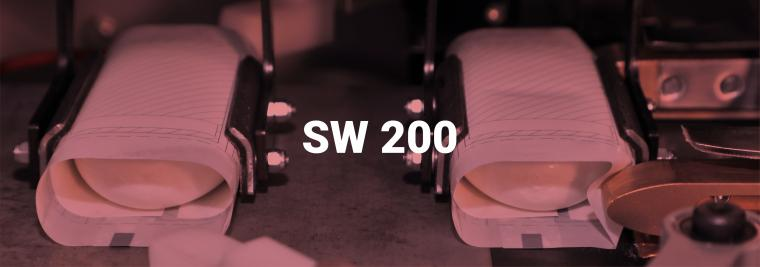 SW200 low volume soap bar wrapper